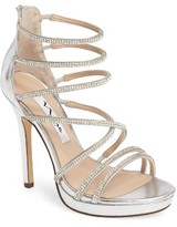 Nina Women's Finessa Embellished Strappy Sandal