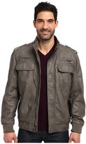 Calvin Klein Faux Leather Bomber Jacket CM499264