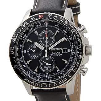 Seiko Men's SSC009P3 Dial Flight Watch
