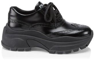 Prada Chunky Oxford Sneakers