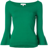 Milly flared sleeves jumper