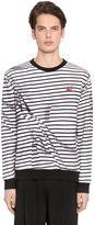 McQ by Alexander McQueen Wrinkled Effect Cotton Sweatshirt