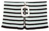 J.w.anderson Striped Zip-up Wool Neckband