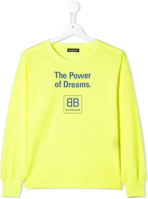 Balenciaga Kids The Power of Dreams T-shirt