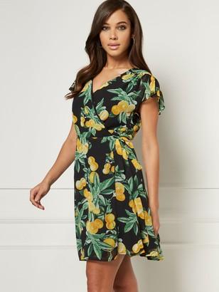 New York & Co. Allison Wrap Dress - Eva Mendes Collection