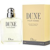 Dune by Christian Dior EDT SPRAY 3.4 OZ for MEN ---(Package Of 2)
