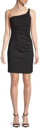 Susana Monaco One-Shoulder Dress Bodycon Dress