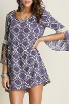 Umgee USA Floral Printed Dress