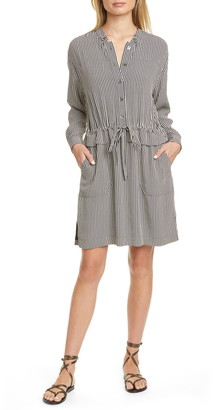 Equipment Lizza Long Sleeve Shirtdress