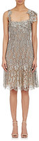 Alberta Ferretti WOMEN'S LACE SHIFT DRESS