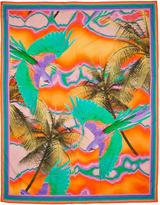 Matthew Williamson Escape Orange Tropical Print Sarong