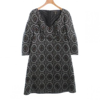 Louis Vuitton Black Wool Dress for Women