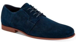 Calvin Klein Men's Leland Silky Suede Oxfords Men's Shoes