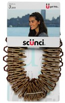 Conair SCUNCI Stretch Comb 3pk.