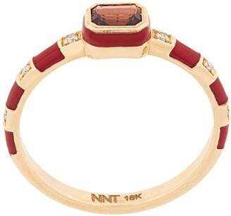 Nevernot Embellished Pendant Ring