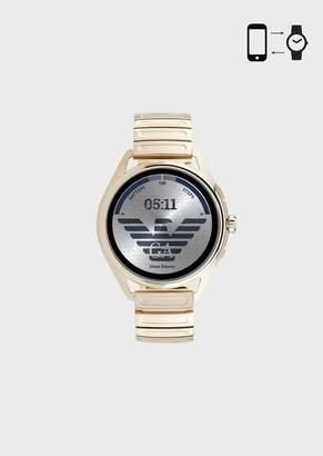 Emporio Armani Smartwatch 3 Matte Gold