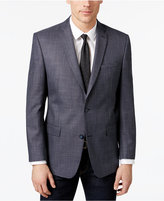Andrew Marc Men's Classic-Fit Navy/Gray Birdseye Sport Coat