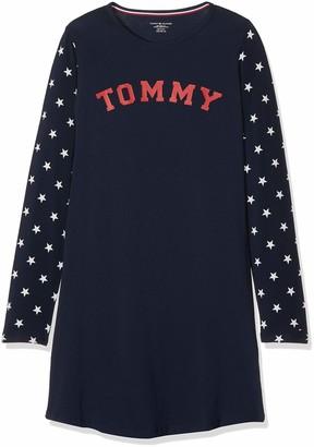 Tommy Hilfiger Girl's Ls Dress Stars Nightie