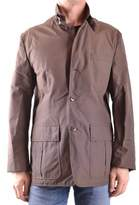 Gant Men's Brown Cotton Outerwear Jacket.