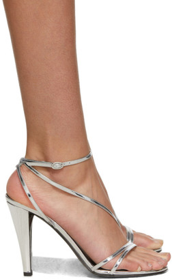 Isabel Marant Silver Arora Sandals