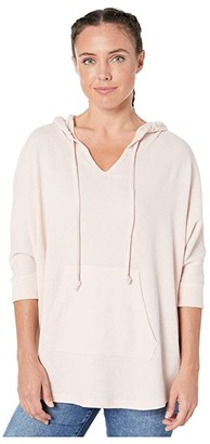 Alternative Thermal Game Day Poncho (Vintage Faded Pink) Women's Sweatshirt