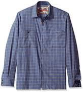 Robert Graham Men's Auburn Long Sleeve Shirt Jacket