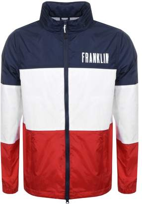 Franklin & Marshall Franklin Marshall Nylon Hooded Jacket Navy