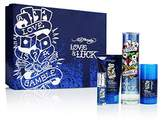 Christian Audigier Ed Hardy Love and Luck Love is a Gamble 4 Piece Gift Set for Men