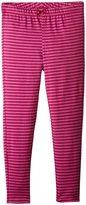 Pink Chicken Stripe Leggings (Toddler/Kid) - Meadow Mauve Stripe - 4 Years