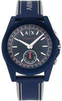 Armani Exchange Drexler Blue Hybrid Smartwatch