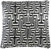 Eichholtz Ozbek Cushion Black Cream Polyester 75x75cm