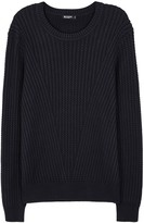 Tiger Of Sweden Addams Midnight Blue Cable-knit Cotton Jumper