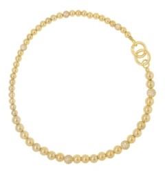 Ettika 18K Gold Royal Sphere Women's Necklace