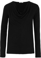 James Perse Panelled Jersey Top