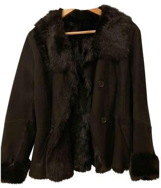 LK Bennett Black Shearling Jacket for Women