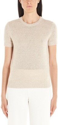 Theory Knitted Ribbed Hem Top