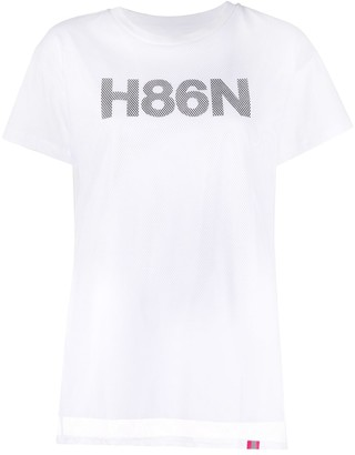 Hogan graphic-print crew neck T-Shirt
