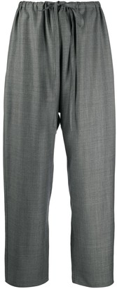 Sofie D'hoore Pisani cropped drawstring trousers