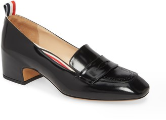 Thom Browne Brogued Loafer Pump