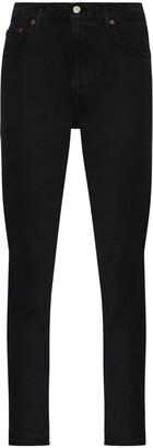 AGOLDE Toni mid-rise slim-fit jeans