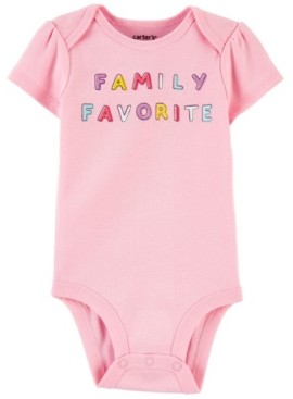 Carter's Baby Boys and Girls Family Favorite Original Bodysuit