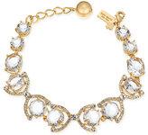 Kate Spade Gold-Tone Crystal and Pavé Link Bracelet