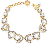 Kate Spade Special Occasion Gold-Tone Crystal and Pavé Link Bracelet