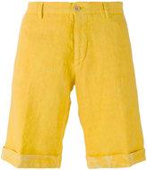 Etro turn-up hem chino shorts - men - Linen/Flax - 48
