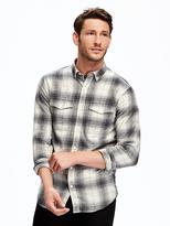 Old Navy Slim-Fit Flannel Shirt for Men