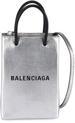 Balenciaga Shop Phone Holder Bag