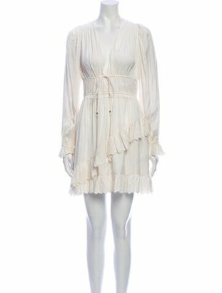 Ulla Johnson V-Neck Mini Dress
