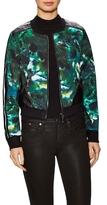 Stella & Jamie Gwenyth Printed Bomber Jacket
