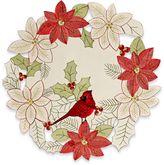 Homewear Linens Cardinal Cutwork Placemat