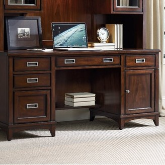 Hooker Furniture Latitude 5 Drawer Computer Credenza Desk